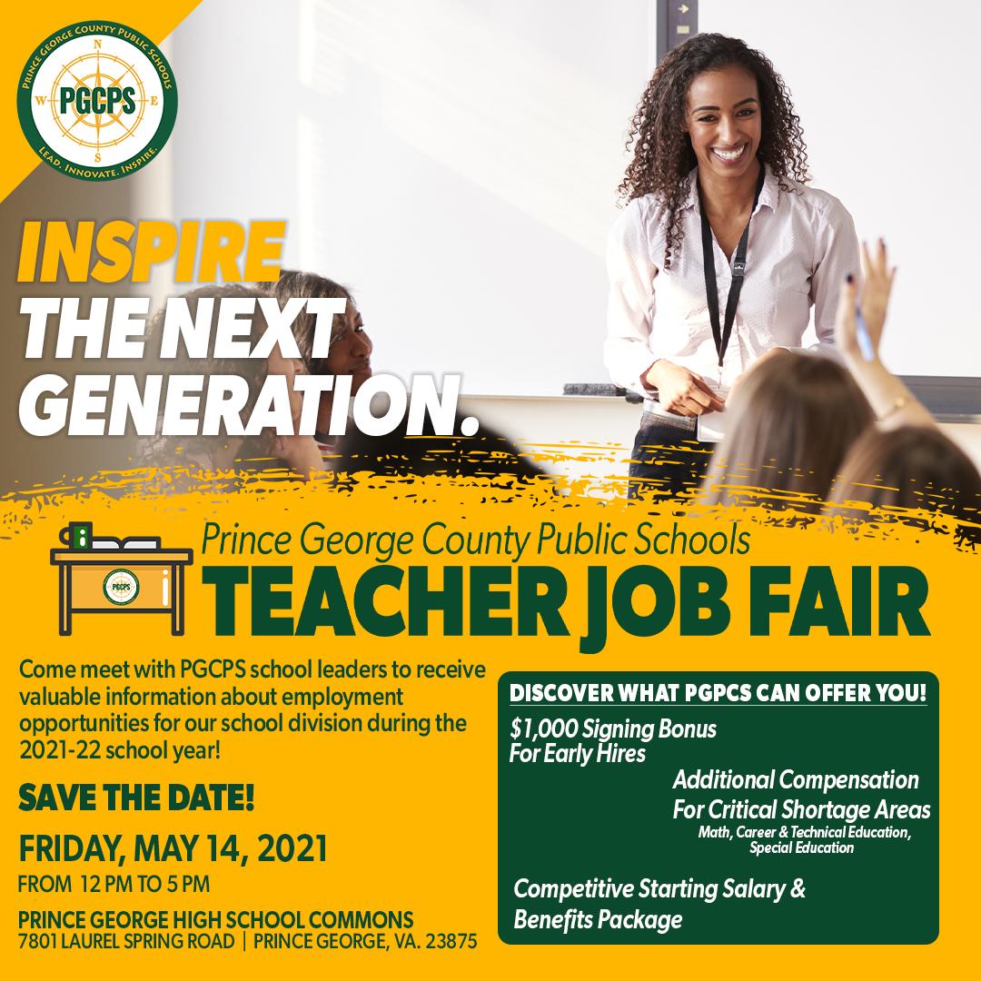 Teacher Job Fair Ad