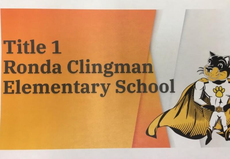 Title 1 Ronda Clingman Elementary School