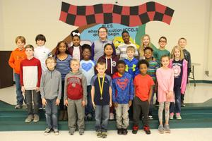 B-L Elementary School Honors Character Education Trait Winners
