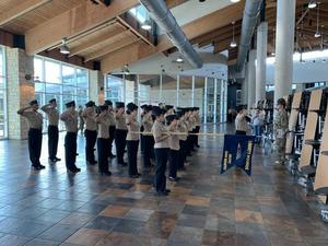 San Benito NJROTC Liberty Hounds Teams Qualify For State For The 3rd Year In A Row