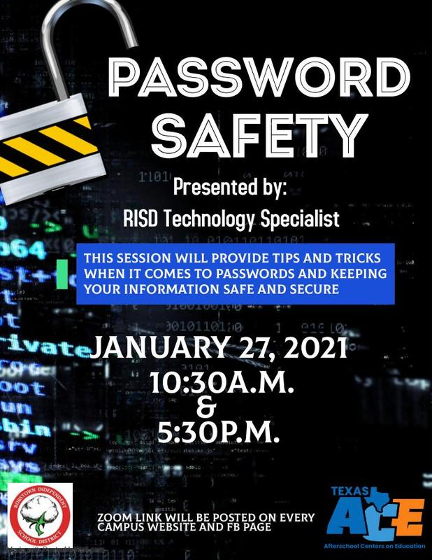 Password Safety Training Featured Photo