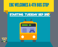EBC welcomes 4th Bus stop! Featured Photo