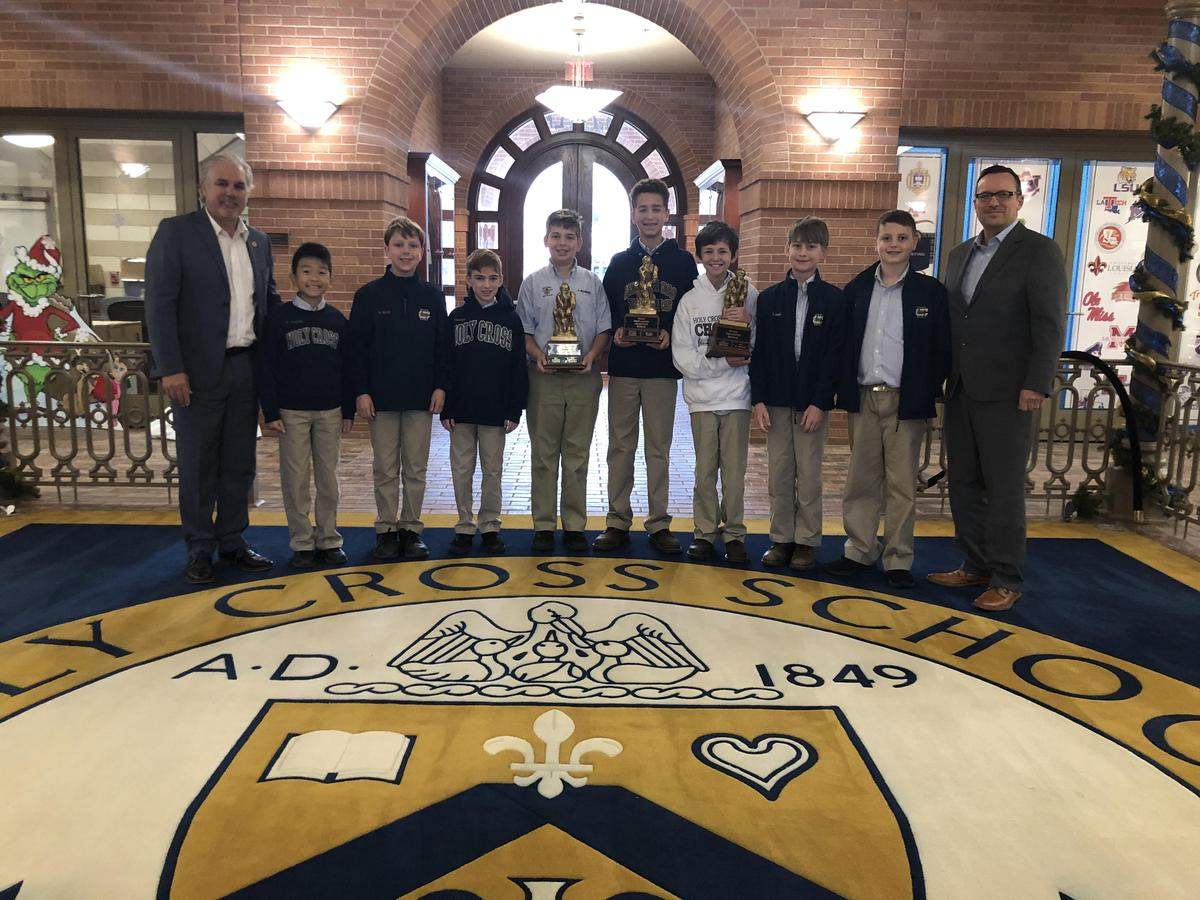 Academic Games Teams Take Honors in New Orleans League Featured Photo
