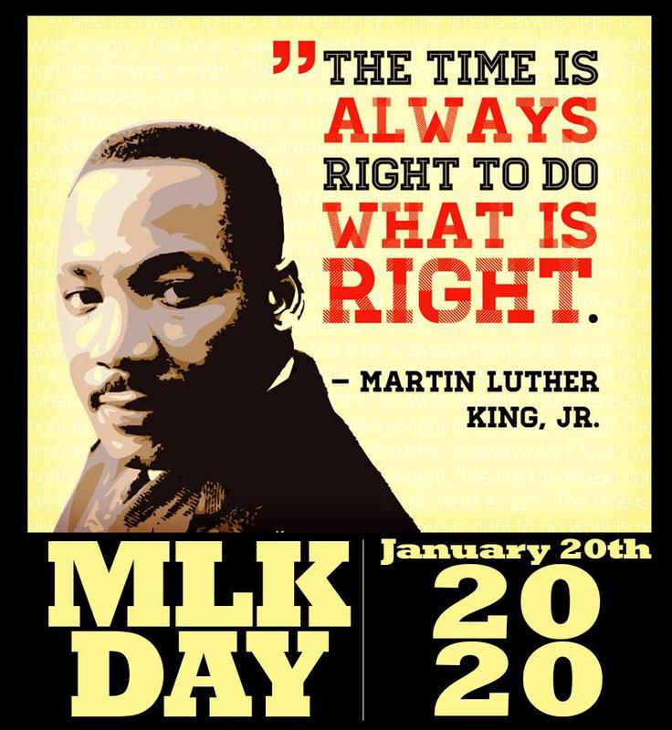 All BSD campuses will be closed on Monday, January 20th in observance of the Martin Luther King Holiday. Thumbnail Image