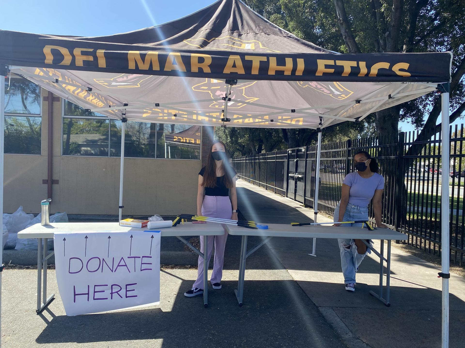 women's month donation drive by students on march 31 2021