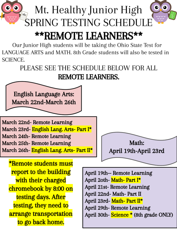 remote learning flyer