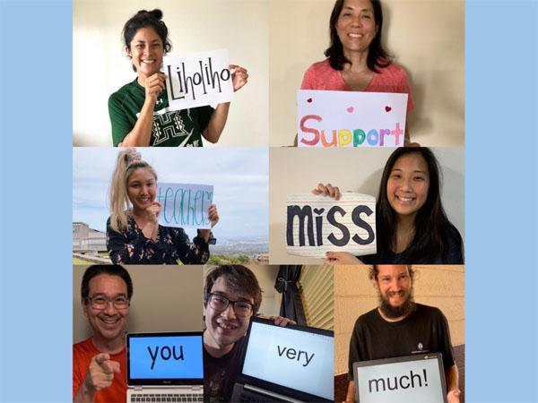 Our Messages to You! From the Liholiho Teachers and Staff 2020