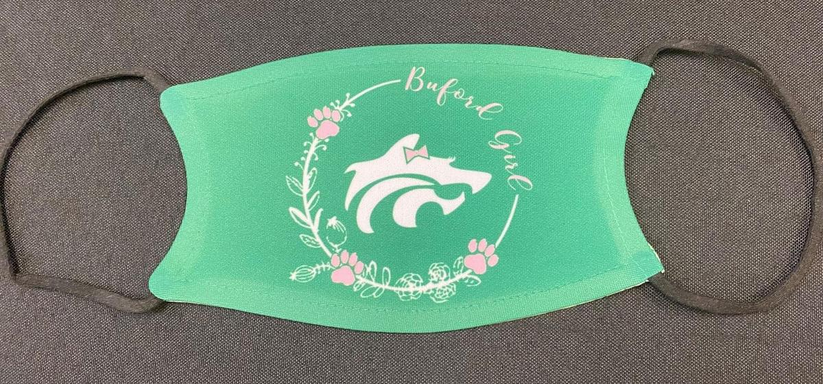 "Green-""Buford Girl"" Mask"