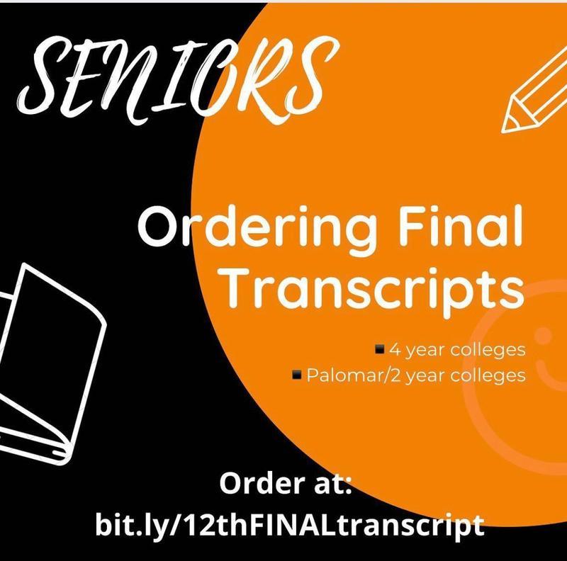 Transcript ordering