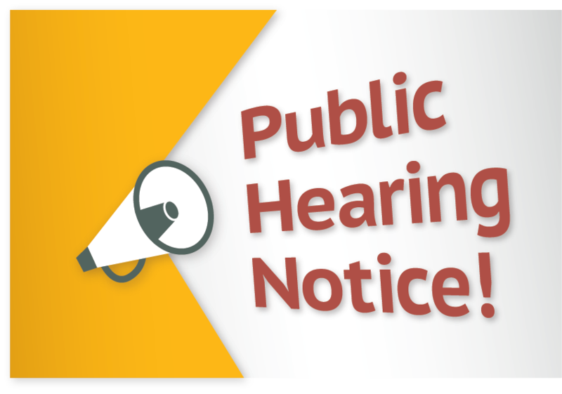 NOTICE OF FIRST PUBLIC HEARING | TRUSTEE AREA MAPS Featured Photo