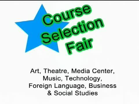 Course Selection Fair Coming! Featured Photo