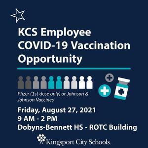 Staff vaccine info