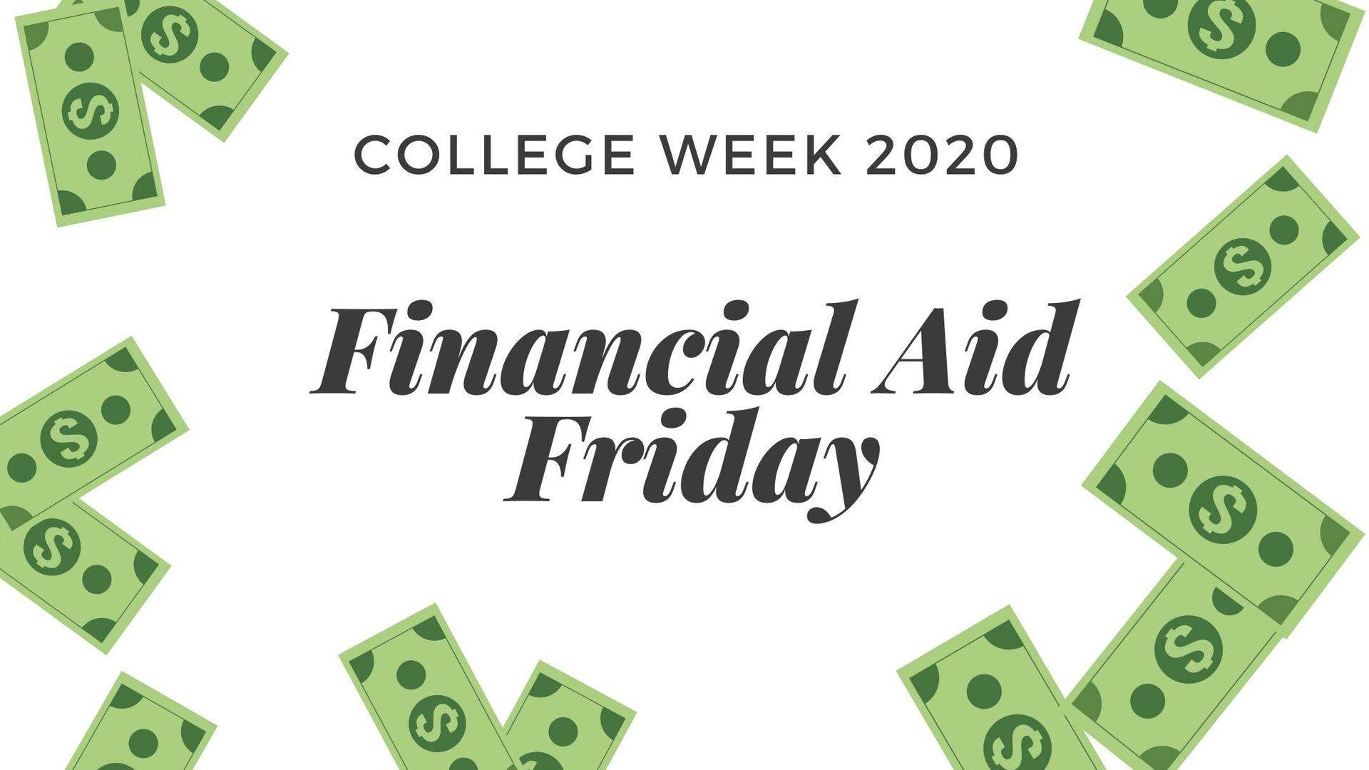 Financial Aid Friday
