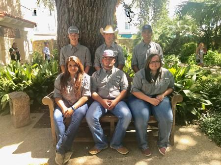 MCISD FFA officers