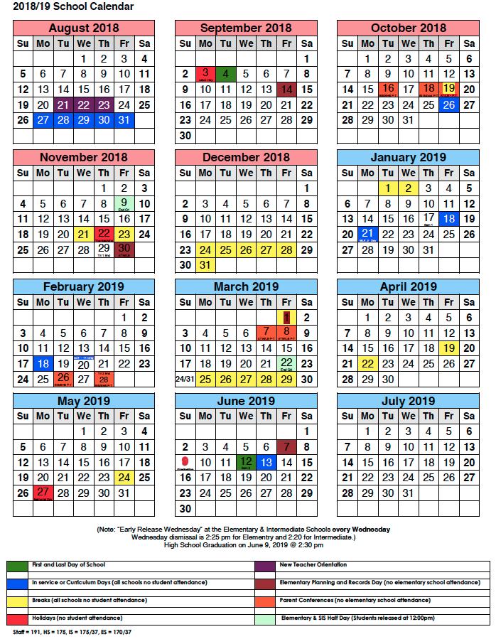 shorewood intermediate school homework calendar