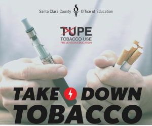 Digital poster for the TUPE club (teens against tobacco use)