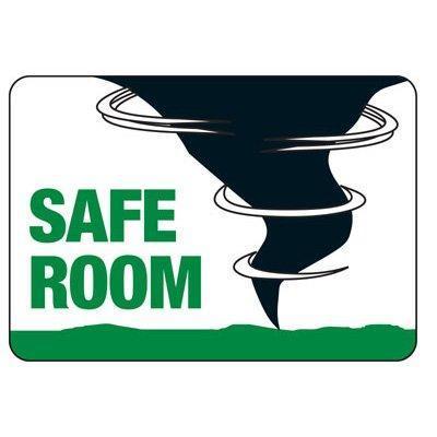 SAFE ROOM SIGN
