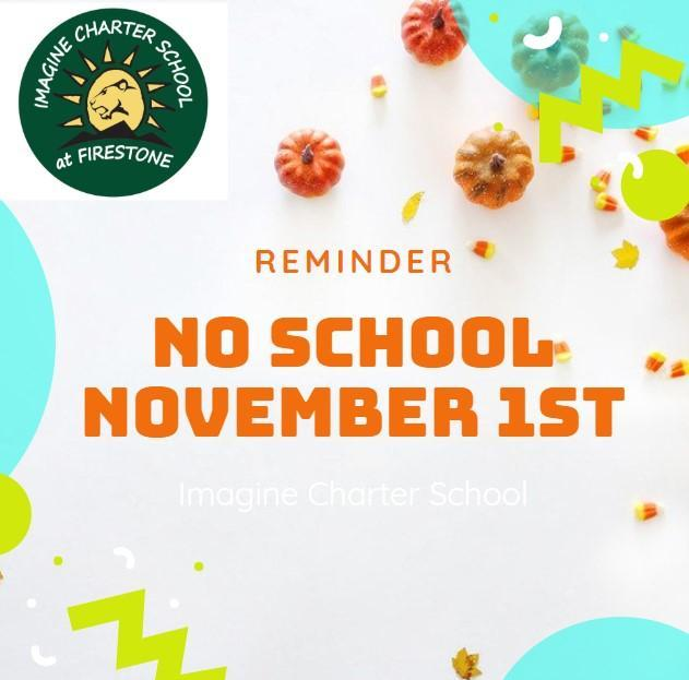 No School for Students on November 1st Featured Photo