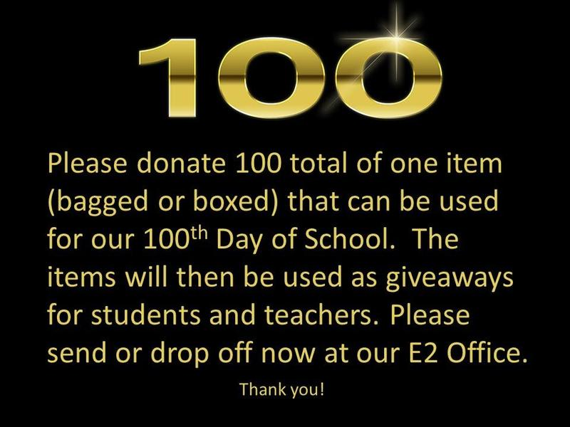 Please donate 100 items! Thumbnail Image