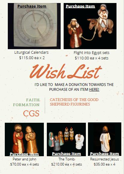 CGS wishlist image