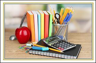 School supply photo