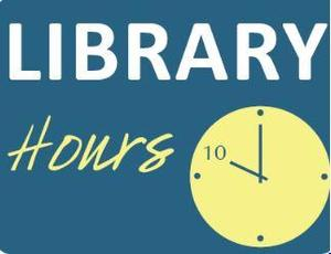 Library Hours Logo Picture