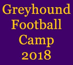 Greyhound Football Camp 2018