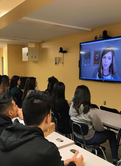 Hancock students participate in Distance Learning