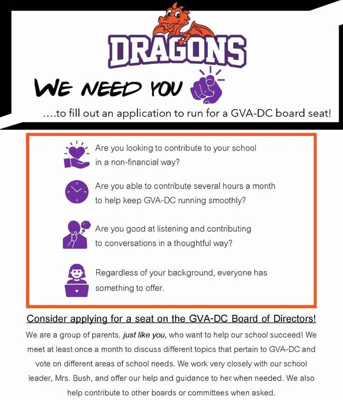 DC board flyer