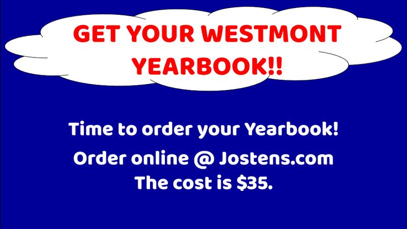 WES yearbook sales
