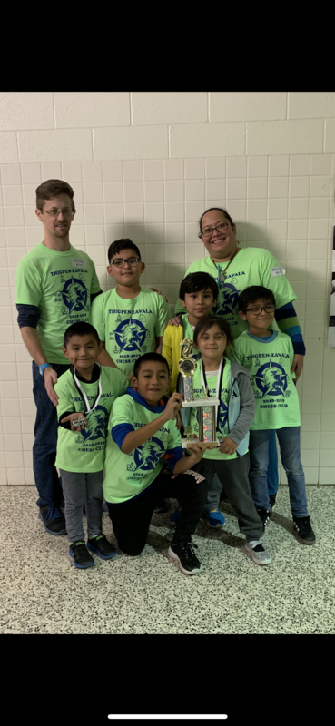 Chess Team Wins 2nd!