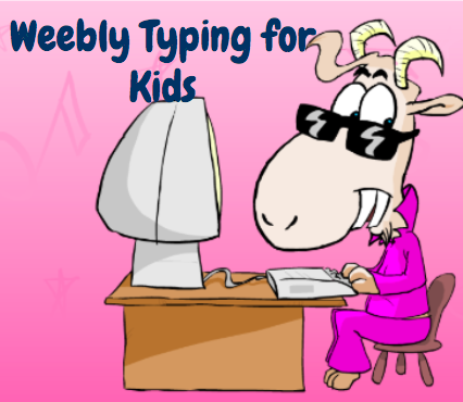 Weebly Typing for Kids