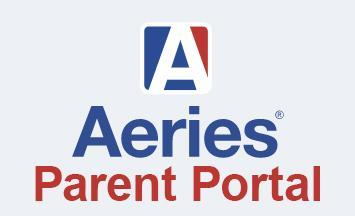 Aeries logo and the words parent portal