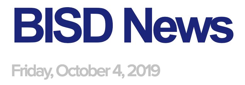 BISD News 10/4/19