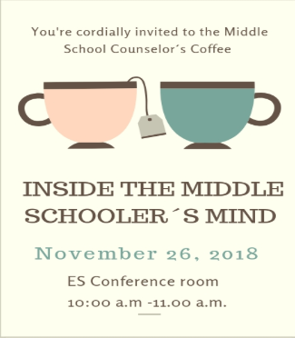 Middle School Counselors Coffee Featured Photo