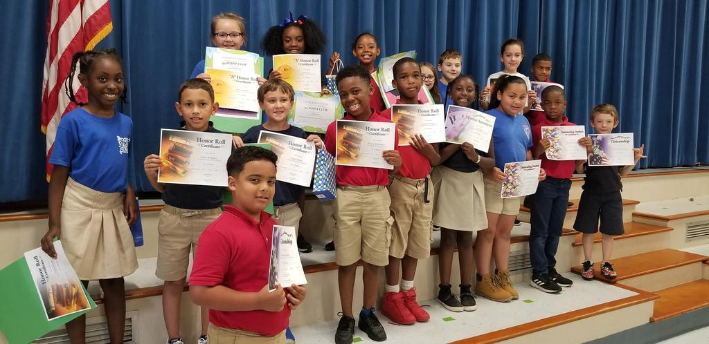 4th Term - 2nd Grade Awards