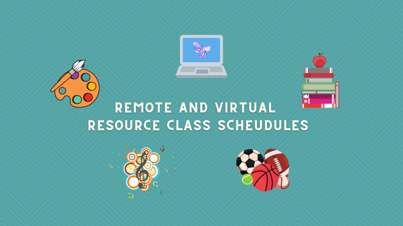 Remote and Virtual Resource Class Schedules