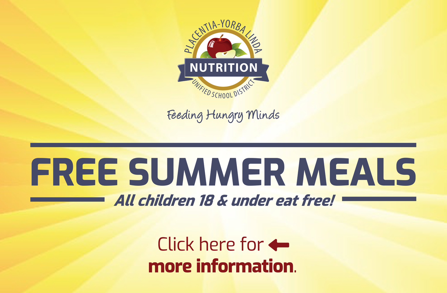 Free summer meals 2021.