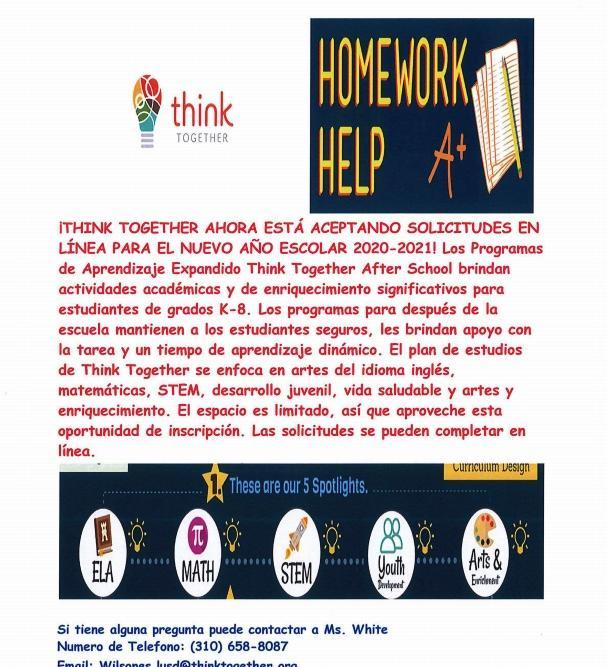 Think Together Program Featured Photo