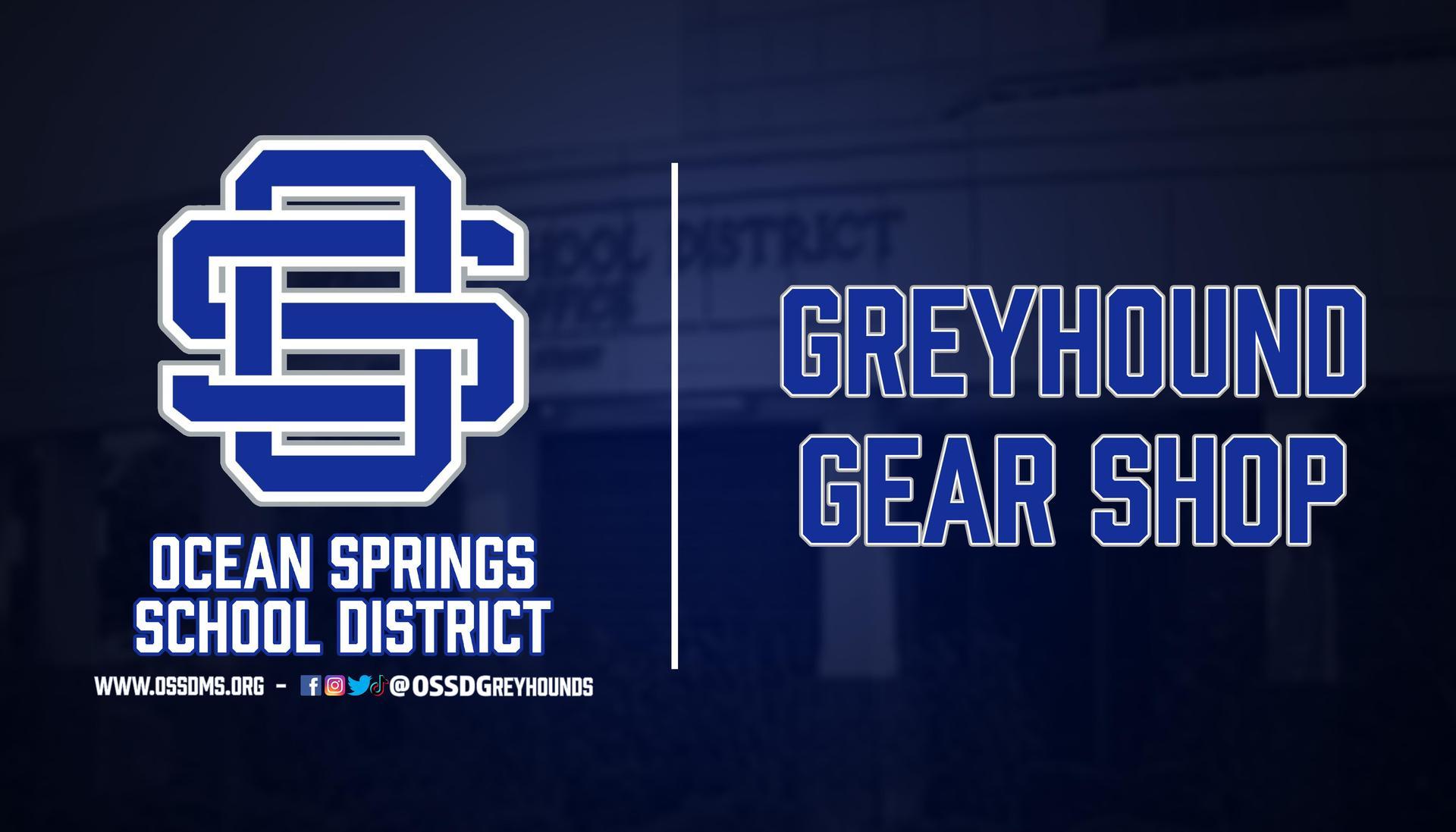 Greyhound Gear Shop header