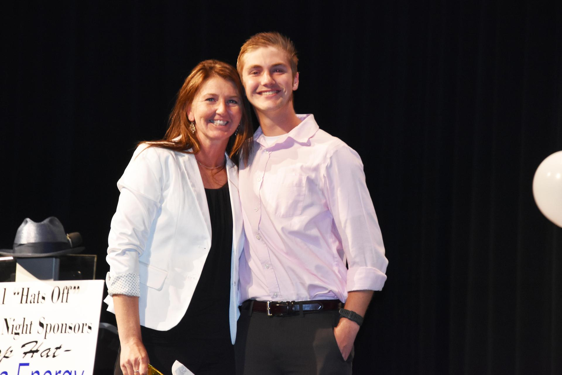 Cameron Vieck and Loretta Haley