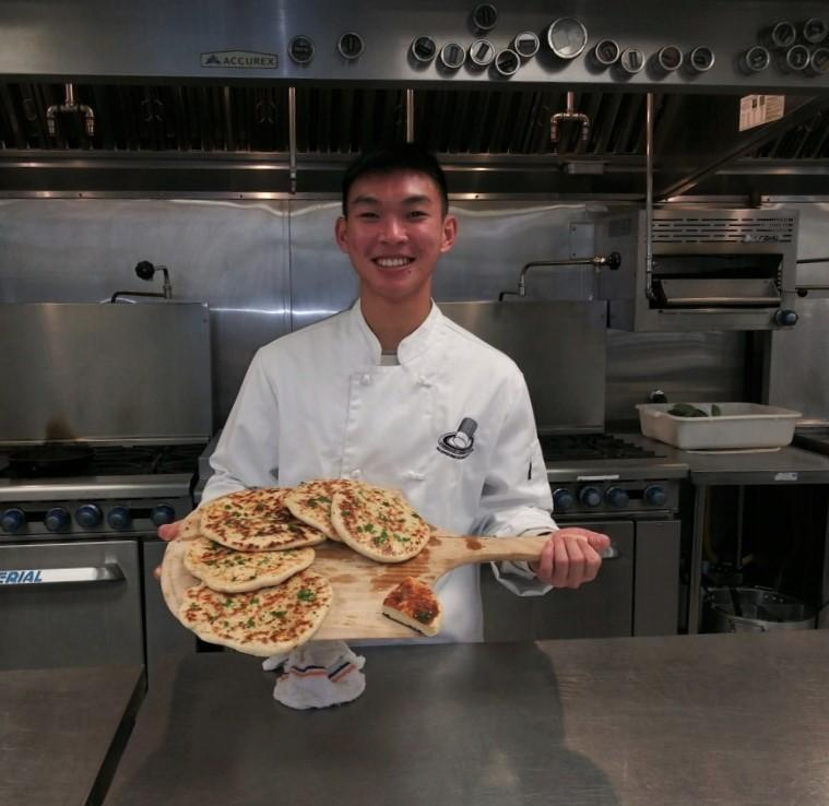 Baldwin Park High School senior Simon Luong won a full-tuition scholarship to the Institute of Culinary Education in Pasadena, worth more than $30,000, to pursue a diploma in baking and pastry.