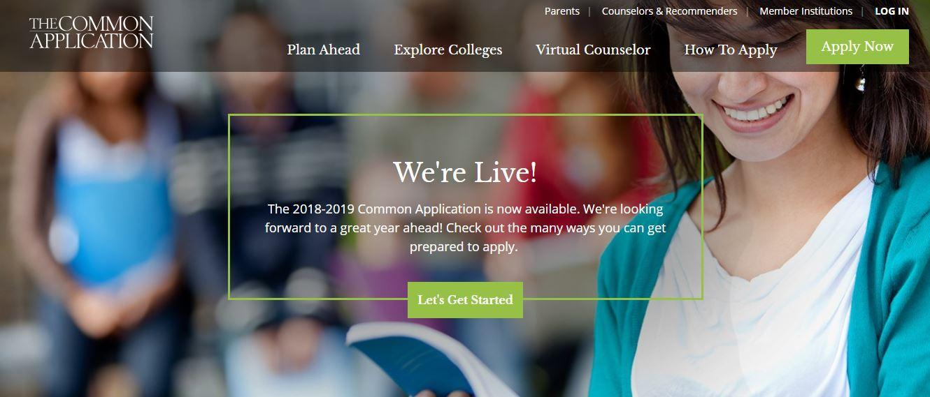 AGHS Career & College Center Common App