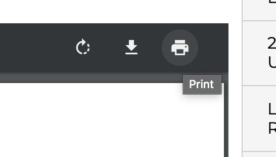Export a pdf