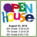 Open House with times