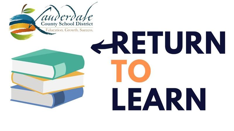 LCSD Return to Learn Graphic