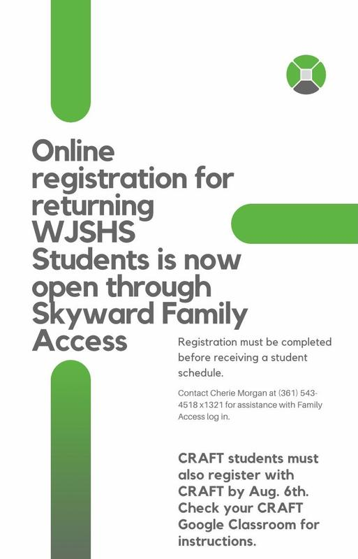 Online Registration (WJSHS Only) Featured Photo