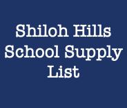List of School Supplies 2020-2021