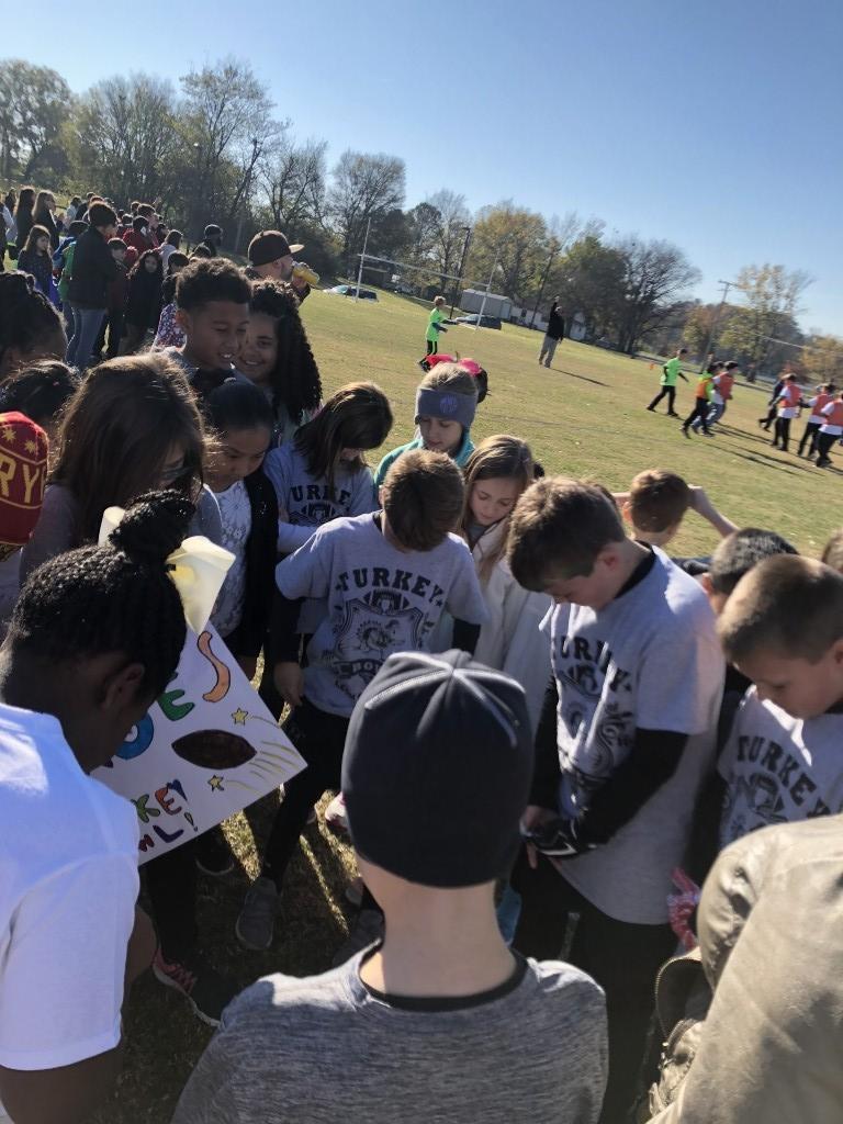 Polk's class Turkey Bowl 2017