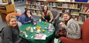WMS Book Club meeting